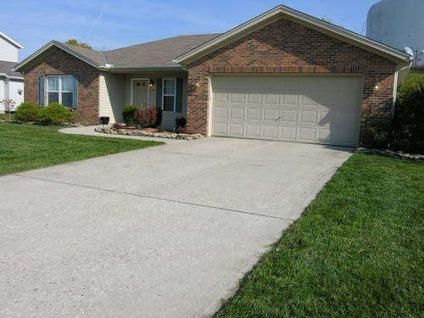 $119,900 Trenton Ohio Ranch with Cathedral Ceilings and 4 Bedrooms