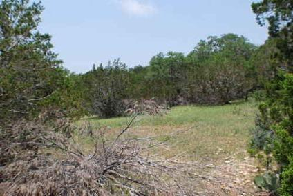 $127,585 Hill Country Land at Its Best !