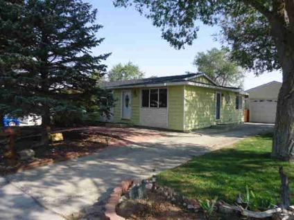 $184,000 Rock Springs 3BR 1BA, Corner lot with RV parking and