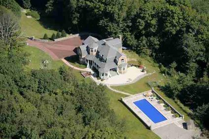 $1,695,000 Bedford 4BR 4BA, Beautifully sited on a meandering country