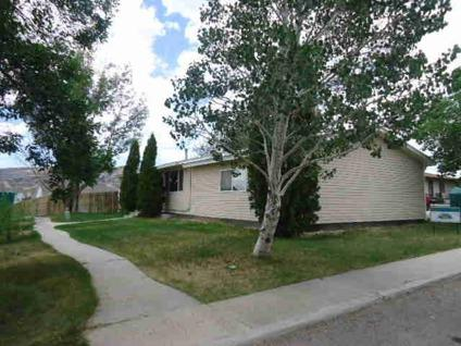 $212,900 Rock Springs 4BR 1BA, WOW what a big backyard for playing
