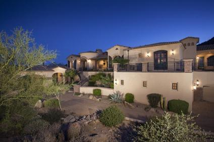 $2,300,000 Home for Sale in Mesa in the Golf Course Community of Las Sendas