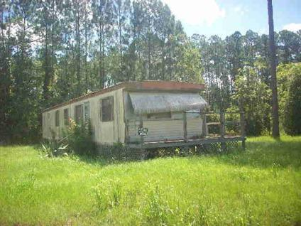 39 900 bunnell this older 2 bedroom 1 bath single wide for 1 bed 1 bath mobile homes