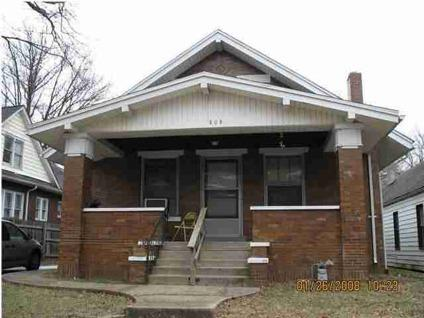$63,500 Evansville Two BR One BA, Single Family in EVANSVILLE