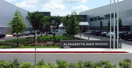 Alpharetta Homes Near Alpharetta High School